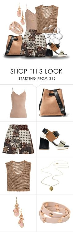"""Untitled #1141"" by saritanwa ❤ liked on Polyvore featuring Hanro, Jil Sander, River Island, Marni, DAMIR DOMA, Avon and Tory Burch"