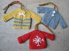 Ravelry: Tiny Top-Down Pullover Sweater and Cardigan pattern by Susan B. Anderson