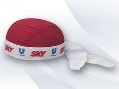 Bandana Personalizada VC1501, esportiva, em microfibra, colorida com fecho em laço, silk.