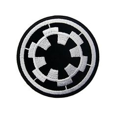 """STAR WARS Storm Trooper Mask Iron On Embroidered Patch Applique 2.9""""/7.3cm: Amazon.co.uk: Kitchen & Home"""