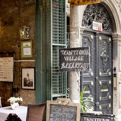 Privato's traditional village breakfast—small plates of cheese, stewed fruits, preserves, eggs, and more—covers the tabletop and encourages a leisurely repast.   Galip Dede Caddesi Timarci Sokak No. 3/B, Beyoğlu/Galata, 90/(0) 212-293-2055  This appeared in the May 2015 issue.