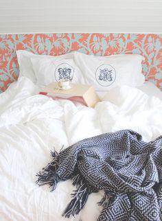 Bedroom, Thibaut, orange, blue Orange, Bedroom, Blue, Bedrooms, Master Bedrooms, Dorm