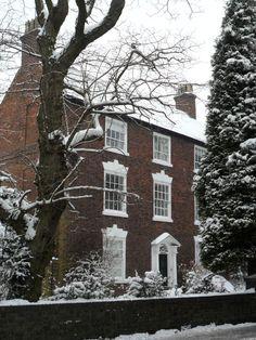 vwcampervan-aldridge:  Shutt Cross House in the snow an 18th Century Listed buidling, Aldridge, Walsall, England