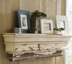Decorative Ledge - I need a knockoff of this 400 dollar shelf from PB... anyone see any out there?!!  Its for a large wall so needs to be pretty big!