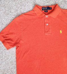 Polo Ralph Lauren 67 corduroy shirt red blue pony orange black lime green M L XL