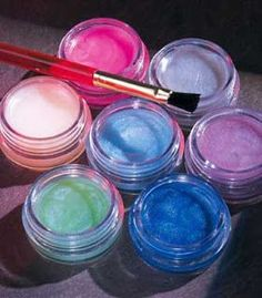 home made lip gloss- 1. put vaseline in a jar 2. add any color of lip gloss AND eye shadow ( if you dont want to put eye shadow, put pouderd drinks like lemonade or koolaid to give it flavor and color)