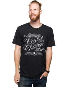 World Change Fitted Tee – Sevenly