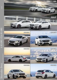 Mercedes-Benz A 45 AMG and CLA 45 AMG
