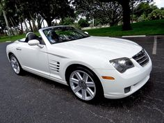 The car is in good condition considering its age. - The rear window is fully attached to the fabric (has been re-adhered). Chrysler Crossfire, Rear Window, Convertible, Florida, Car, Infinity Dress, Automobile, The Florida, Vehicles
