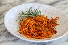 Crispy Sweet Potato Fries with Rosemary and Sea Salt | The Organic Kitchen Blog and Tutorials