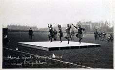 Highland Sports Bedford 1915. Dancing Competition.