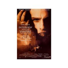 Interview with the Vampire Horror Movie Review by BHM: Vampire... ❤ liked on Polyvore featuring movies