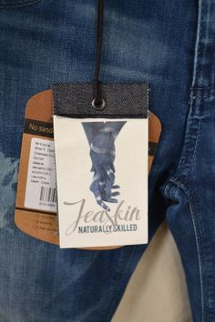 Hangtag Design, Denim Branding, Denim And Supply, Fashion Labels, Hang Tags, Packaging, Mens Fashion, Craft, Shirt