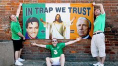 Ireland fans pinned their hope on Italian coach Giovanni Trapattoni. Worst team at Euro 2012, but best fans. #Euro2012 #Ireland #Trapattoni