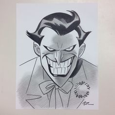 Bruce timm!!!!! My man! Haha the jokers my man... Not Bruce timm