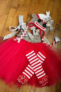 Made to Order Sock Monkey Tutu Dress Hat and by MackenzieOKelley, $65.00
