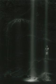 "Masao Yamamoto KAWA=FLOW #1587, 2010 gelatin silver print 13.1"" x 8.8"" (image), 24"" x 20"" (with mat)"