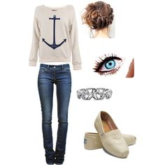 Anchor...great outfit for a the weekend!
