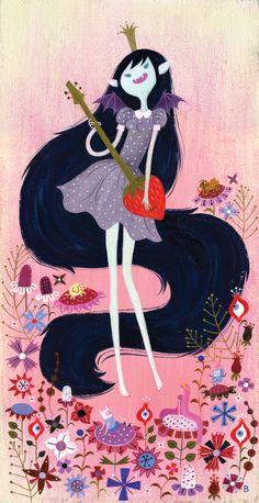 Bridgette Barrager.  Marceline, Vampire Queen