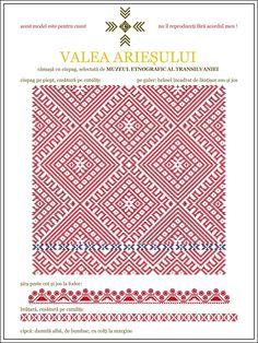Semne Cusute: camasa cu ciupag - Valea Ariesului, TRANSILVANIA