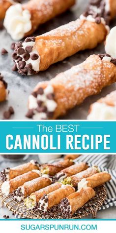 Learn how to make flawless Cannoli completely from scratch! My recipe yields perfect, thin, crispy shells and a rich and creamy filling. I'll walk you through all of my tips and tricks so yours turn out perfectly at home, the recipe also includes a how-to video!