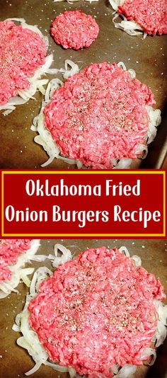 Don't use buns for keto Oklahoma Fried Onion Burgers Recipe fleisch Don't use buns for keto Fried Onion Burger Recipe, Fried Onions Recipe, Hamburger Recipes, Ground Beef Recipes, Best Fried Hamburger Recipe, Onion Recipes, Meat Recipes, Recipies, Dinner Recipes