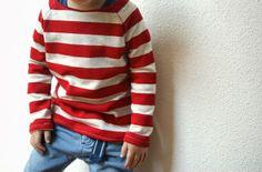 raglan sweater (pattern blooms and bugs)