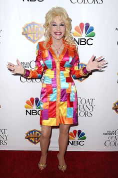 Dolly Parton 2015: Coat of Many Colors Premier