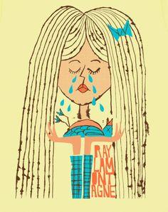 Ray Lamontagne - Sad Girl T-shirt design