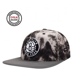 Mitchell and Ness Spring 2015 2 Tone Acid Wash Snapback Cap-Brooklyn Nets  Brooklyn Nets 9b9ddc8ca1d7