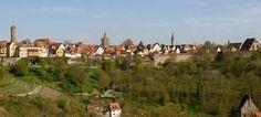 In der alten Reichsstadt Rothenburg ob der Tauber erleben Sie das deutsche Mittelalter und die Renaissance in Deutschland, wie sie wirklich waren.