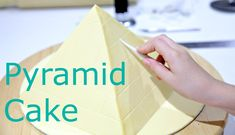 10 Year Old Makes a Pyramid Cake - KIDS CAKE STYLE