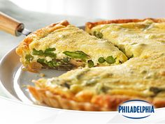 Looking for a fresh, new recipe? This Asparagus and Parmesan tart packs the taste of spring in every bite, and it features the taste of Philly Cream Cheese. Perfect for a weekend brunch, or as a way to make a workday breakfast feel special, this tart brings something different to the table.