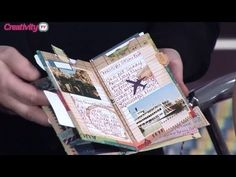 Make A Mini Album With One Sheet of Paper | docrafts Creativity TV - YouTube