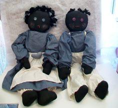 Fille et garçon à la main primitif de la noir par ALEXLITTLETHINGS