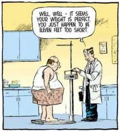 Fitness Humor: Eleven feet too short!