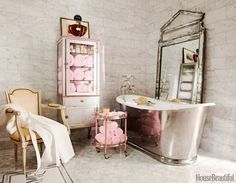 Silver Bath :: House Beautiful
