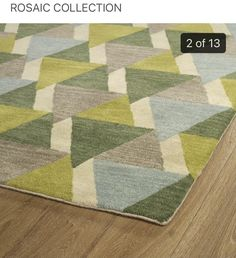 Lime Green Rug, Blue Green, Moroccan Area Rug, Rectangular Rugs, Mosaic Patterns, Tile Art, Online Home Decor Stores, Decoration, Colorful Rugs