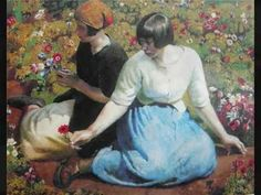 "The story of the artwork: ""Laura and Paul Jewill Hill"" by Harold Harvey http://designmuitomais.blogspot.com.br/2015/03/a-historia-da-obra-laura-and-paul.html"