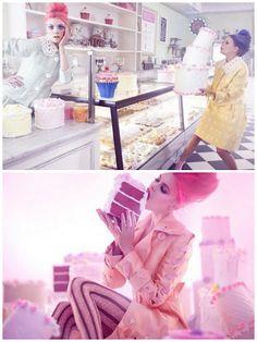 As modelos Masha P e Anna I são as estrelas do editorial em tons pasteis da Marie Claire China Abril 2012. Os clicks são de Amber Gray e o estilo de Guillaume Boulez.