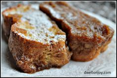 Easter Brunch: Baked French Toast