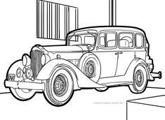 malvorlage oldtimer | malvorlagen, malvorlage auto und kostenlose malvorlagen
