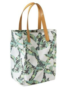 Gap Printed Canvas Tote #Refinery29