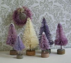 Tiny Purple Lilac and Lavender Candyland Vintage by juliecollings, $14.50