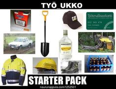 TYÖ_UKKO STARTERPACK - hauskat kuvat - Naurunappula What Meme, Finland, Lol, Humor, Funny Shit, Inner Child, Apartment Kitchen, Backyard Landscaping, House Design