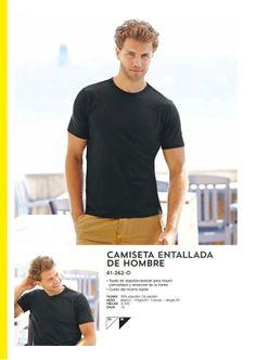 Camiseta entallada de Hombre
