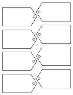 picture about Free Printable Blank Gift Tags titled Printable reward tag. Specifically reproduction and paste into a file