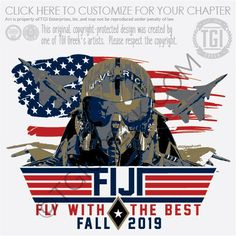 Phi Gamma Delta Fraternity tshirt design by TGI Greek! Perfect for frat recruitment or a cool PR shirt Fraternity Rush Shirts, Fraternity Letters, Sorority And Fraternity, Sorority Shirts, Bid Day Shirts, College T Shirts, Tee Shirts, Wounded Warrior, Patriotic Party