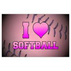 I heart softball!!! :)