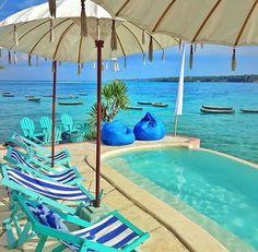 Le Pirate Beach Club, Lembongan, Indonesia ❤️
